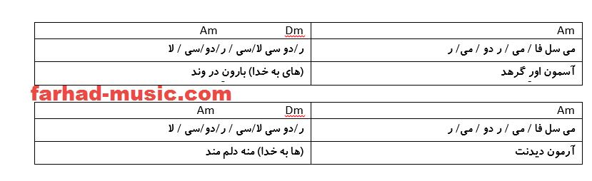 نت فارسی آسمون اوره گرید محلی بختیاری