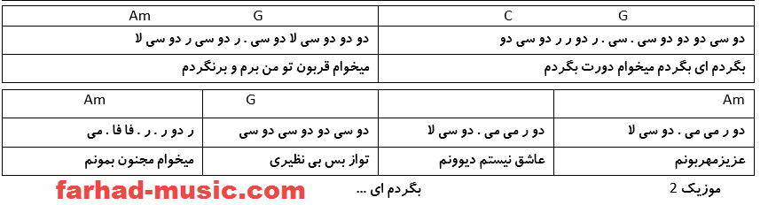 نت فارسی دورت بگردم مهرشاد