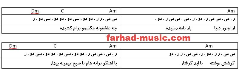 نت فارسی نامه سیاوش شمس